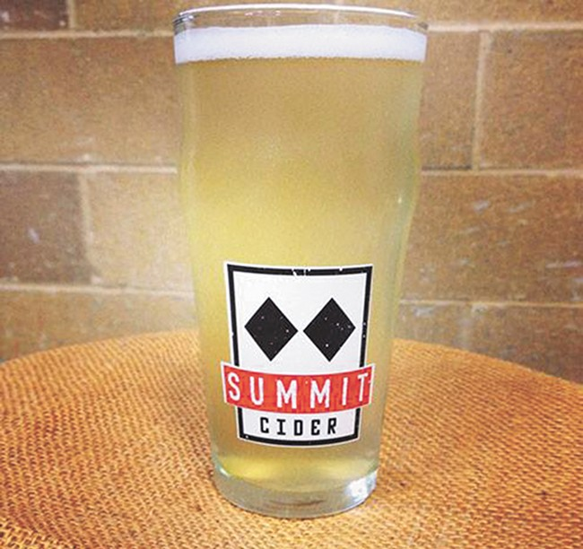 Summit Cider's tasting room in CdA is now open.