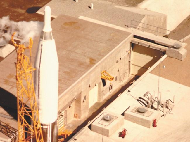 T he Deer Park ballistic missile launch complex, circa 1962.