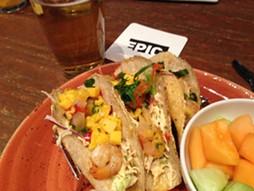 Tacos at EPIC.
