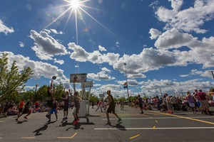 Basketball fills the streets for Hoopfest