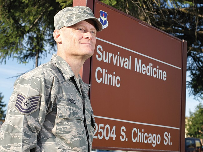 Technical Sergeant Chris Poole - YOUNG KWAK