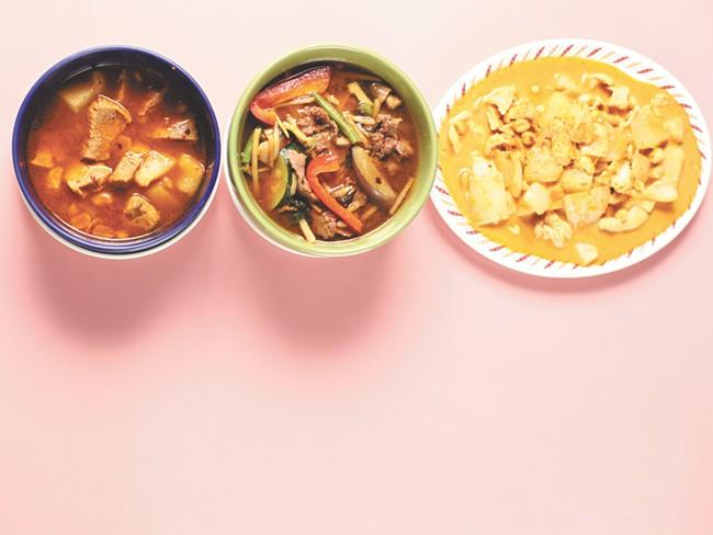 Thai cuisine varies greatly between regions. - YOUNG KWAK