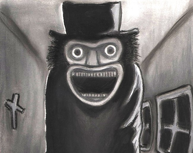 The Babadook (and his fancy hat) will haunt your dreams.