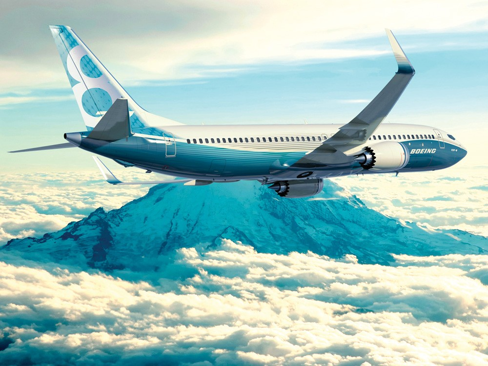 The Boeing 737 MAX - PHOTO COURTESY OF BOEING