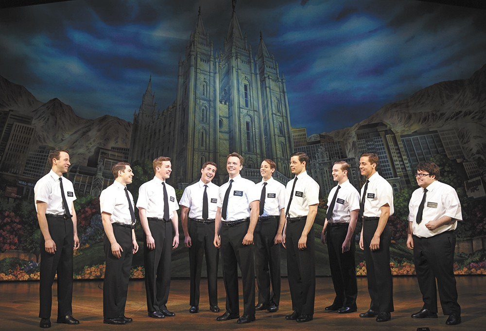 The Book of Mormon is just one of many theater offerings this summer.