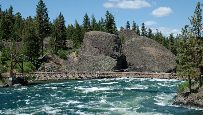 The Bowl & Pitcher rock area of Riverside State Park, which will have free admission on Sept. 27. - JACOB JONES