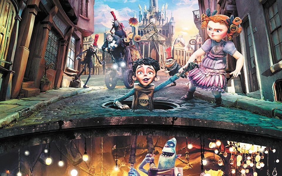 The Boxtrolls' stop-action animation delivers wonders.