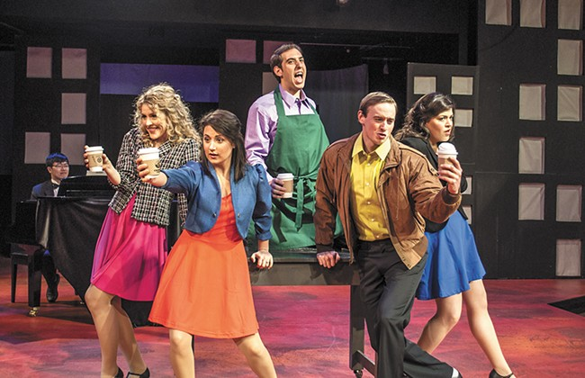 The cast of Interplayers' And the World Goes Round. - SARAH WURTZ