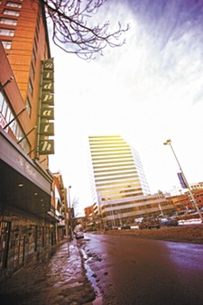 The city of Spokane is eyeing $4.1 million in federal loans to back the redevelopment of the Ridpath Hotel. - YOUNG KWAK