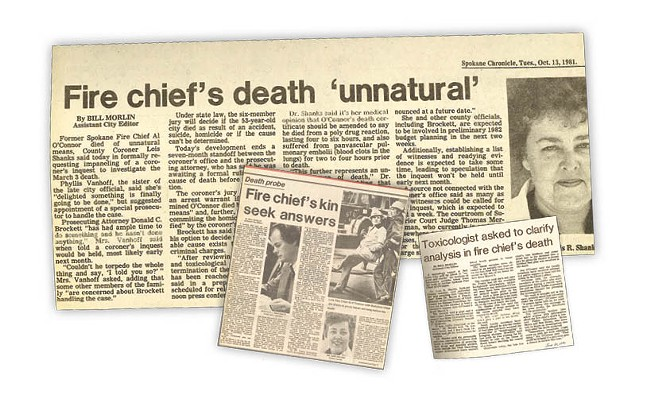 """The coronor's inquest into the death of Al O'Connor was the cause of intense media coverage at the time from local newspapers. The inquest, which began in December of 1981, nine months after O'Connor's death, was called a """"circus"""" and a """"travesty"""" by some critics."""