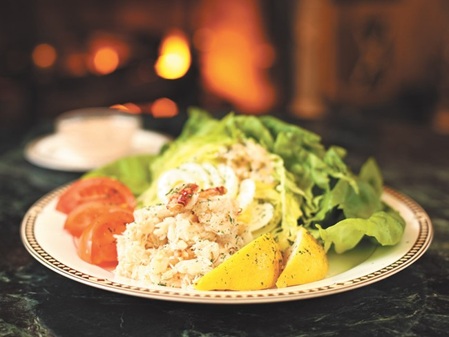 The Davenport isn\'t the only restaurant to claim the Crab Louis as its own. - YOUNG KWAK