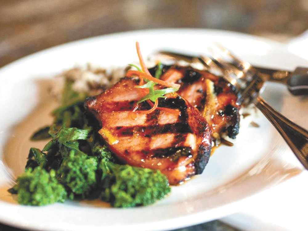 The dishes at The Copa vary in style, but are consistent in quality.