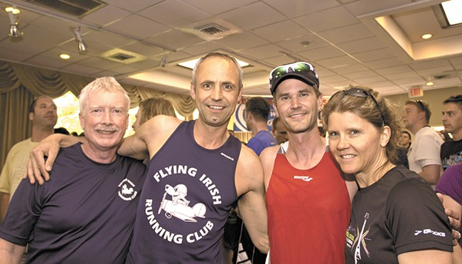 The Flying Irish: where runners meet each other.
