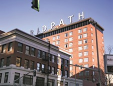 The fortunes of the long-shuttered Ridpath Hotel appear to be changing. - YOUNG KWAK