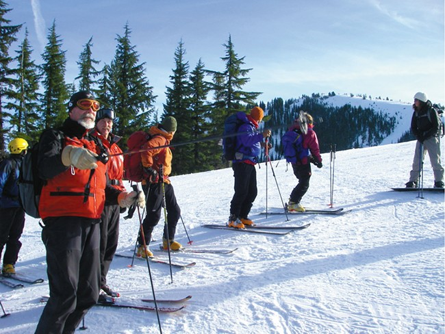 The Idaho Panhandle Avalanche Center teaches safety classes. - IPAC
