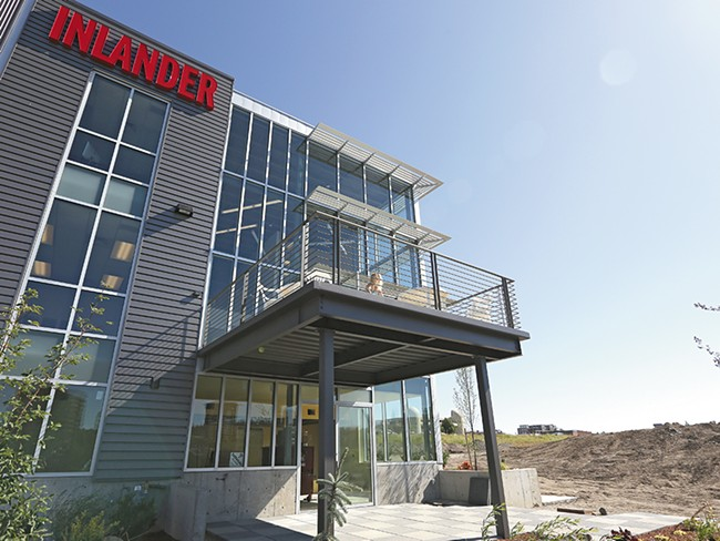 The Inlander\'s new address: 1227 W. Summit Parkway. - YOUNG KWAK