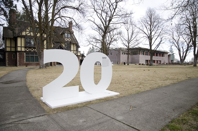 The MAC's new exhibit about Inland Northwest history, called 100 Stories, opens tomorrow. - LISA WAANANEN