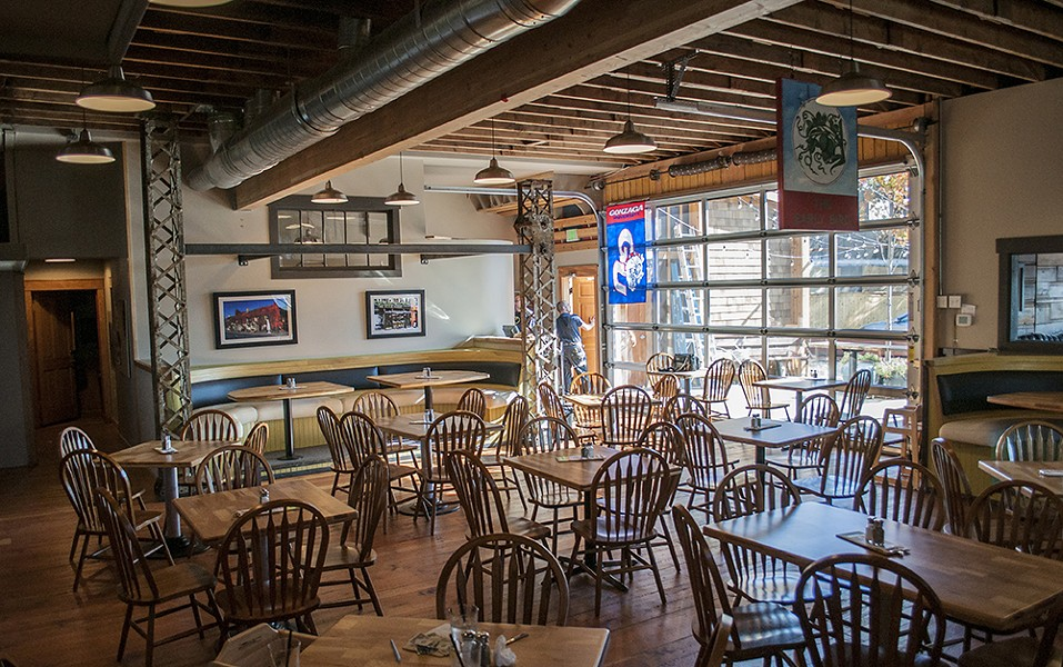 The main dining area at the newly reopened Geno's. - SARAH WURTZ