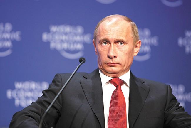 The mainstream media has failed to underscore Vladimir Putin's oil interest in Ukraine, says Project Censored. - REMY STEINEGGER