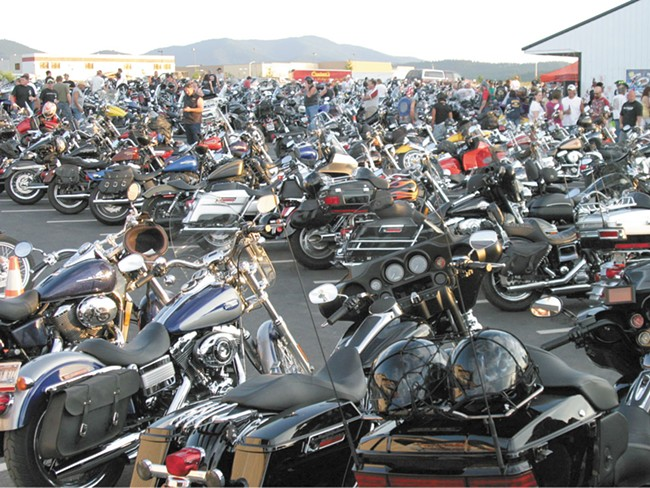 The Mini Sturgis event brings as many as 10,000 people to Cruisers in Post Falls.