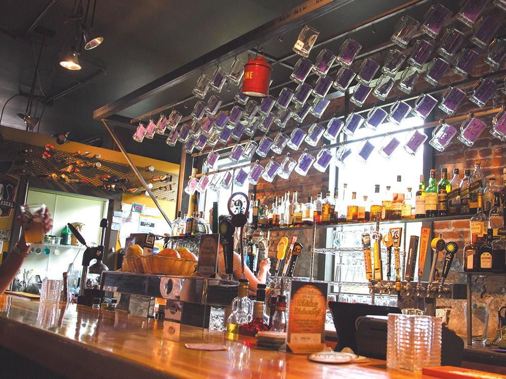 The mug club at Jones Radiator is an elite fraternity of beer lovers. - JENNIFER DEBARROS