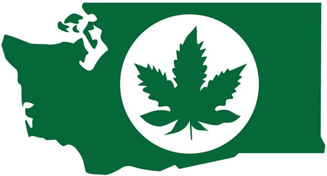 The new marijuana logo from the liquor control board. - COURTESY GRAPHIC
