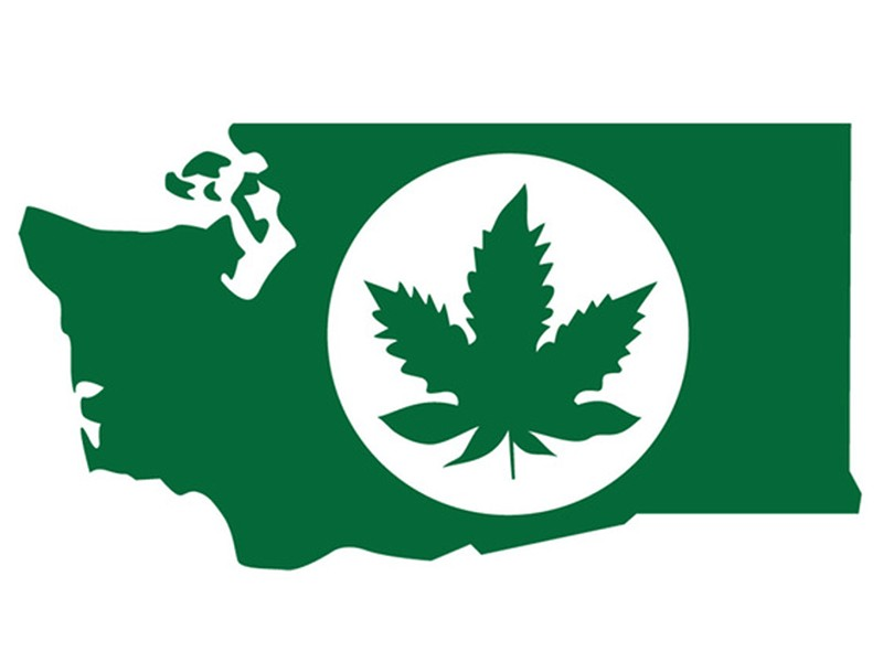 The new marijuana logo from the liquor control board. - COURTESY GRAPHIC