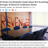 The Onion in Spokane: 'Don't write 'revenge' in blood in the conference room'