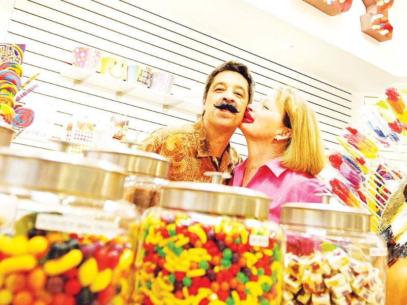 The owners of Mrs. Honeypeeps: Brett and Susan Sommer. - YOUNG KWAK