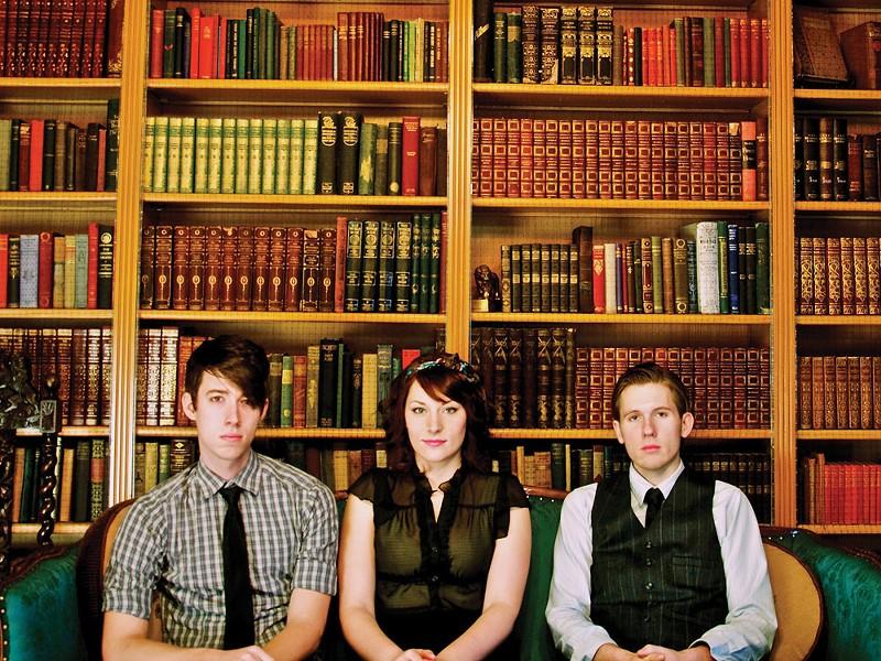 The Perennials (from left): Pete Wells, Amanda Wells, Aaron Hamel