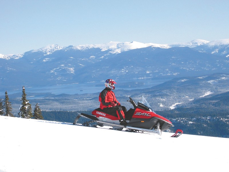 The Priest Lake region offers access to about 400 miles of groomed trails. - CRAIG HILL