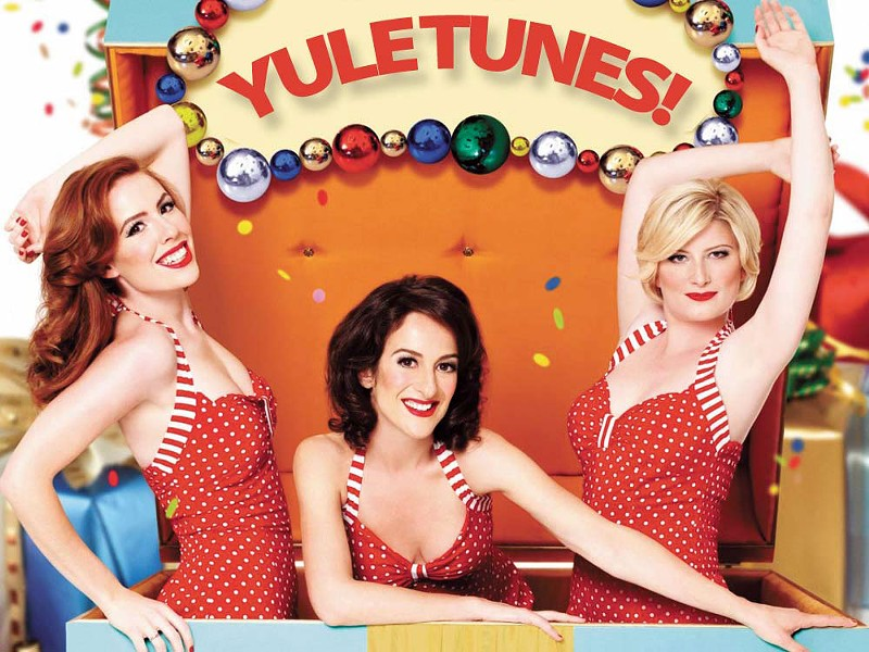 The Puppini Sisters will put some boogie woogie under your tree.