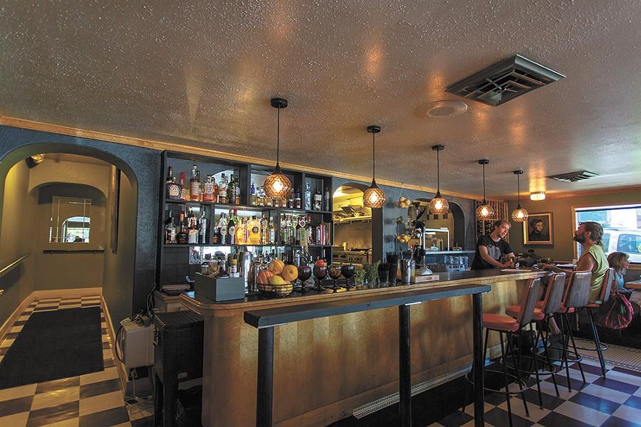 The restored bar at Ruins. - MATT WEIGAND