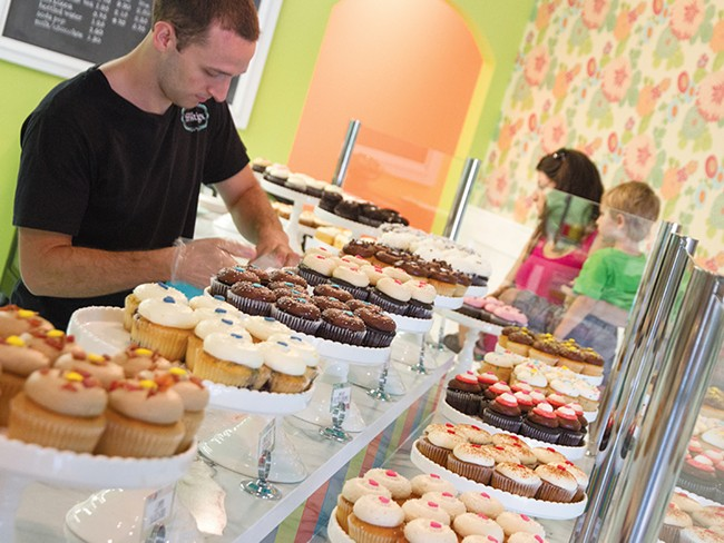 The same cupcakes and other goodies that made Sweet Frostings a hit downtown can now be found in North Spokane. - JENNIFER DEBARROS