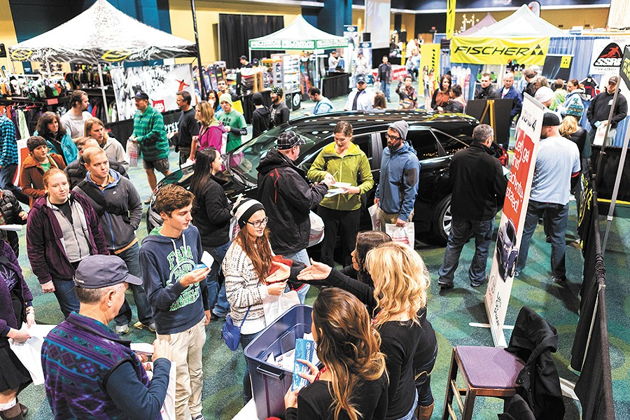 The scene at last year's Snowlander Expo. - STEPHEN SCHLANGE