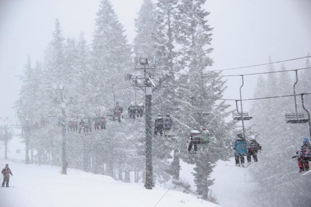 The scene at Mount Spokane in early January. - KRISTEN WHITAKER