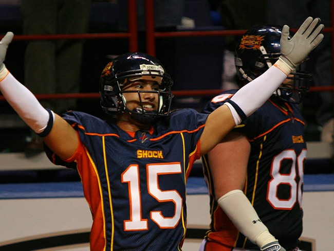 The Spokane Shock's Raul Vijil