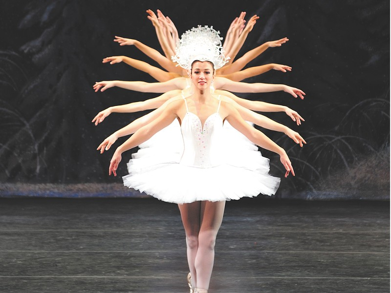 The Symphony has returned in time for The Nutcracker. - DAVID ECK