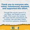 """The """"Yes on 522"""" campaign to label GMOs has officially conceded"""