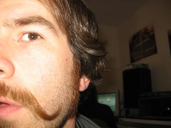 Dave G.: Everyone loves a curly mustache.