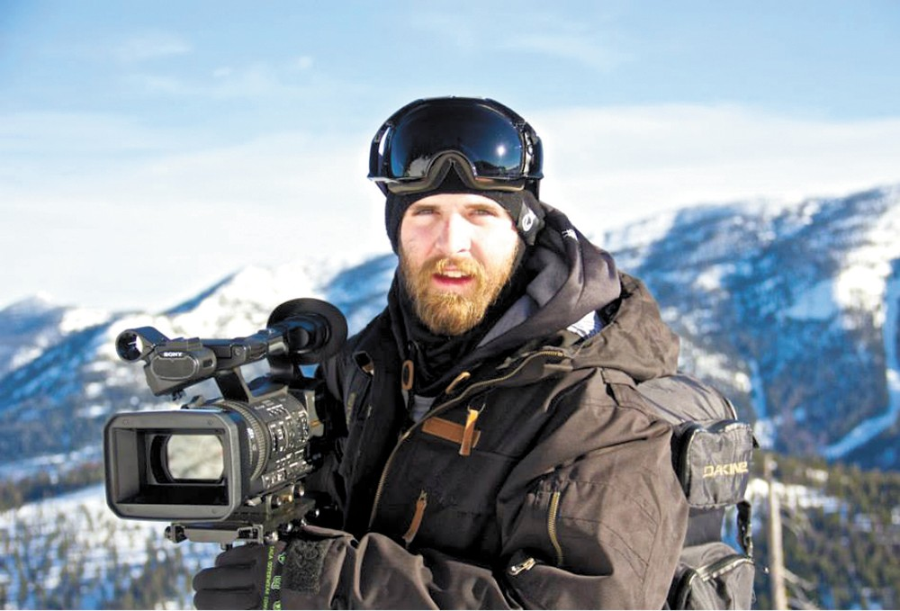 Tim Sorenson stays busy with skiing and filmmaking.