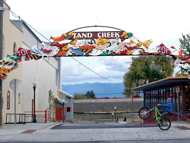 To love or to hate: Sandpoint's new public art is gaining attention, good and bad. - MATT MILLS MCKNIGHT