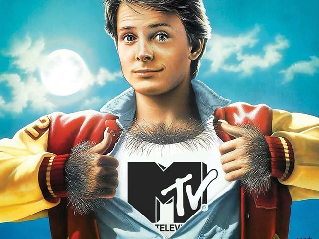 To reach the future, MTV goes back to the 80's