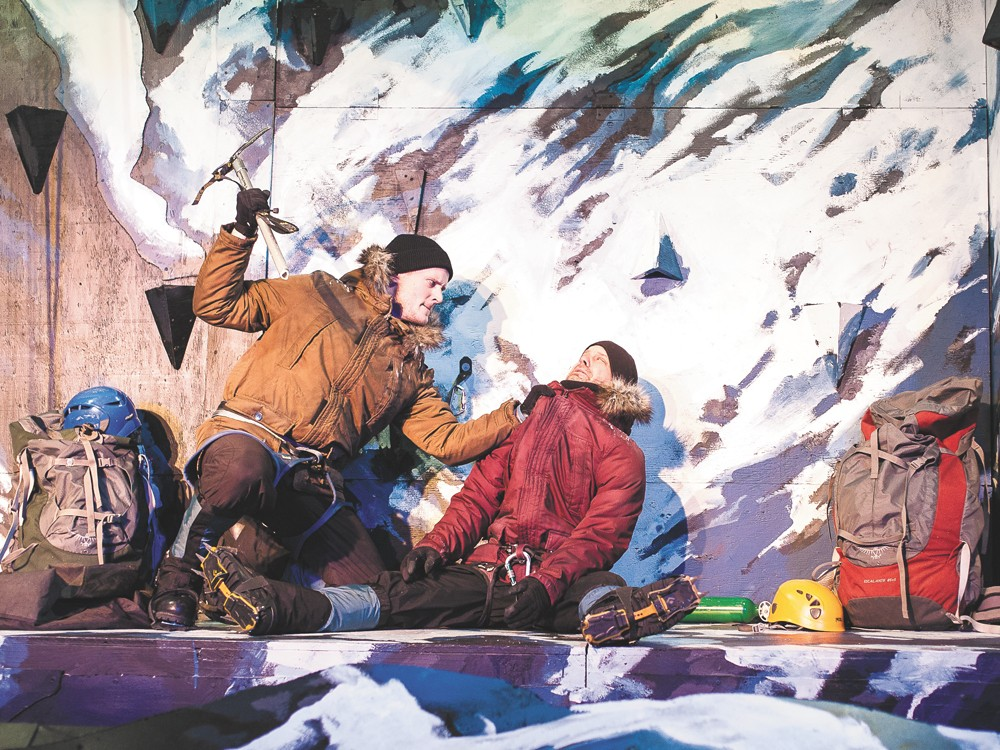 Todd Kehne and George Green in K2. - MIKE MCCALL