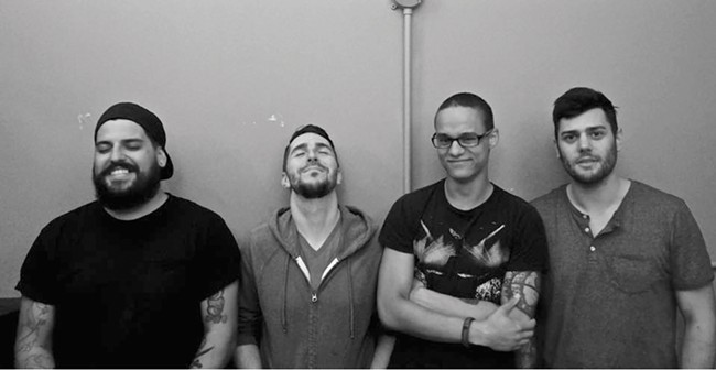Together since June, the Broken Thumbs finally play their first show Friday.