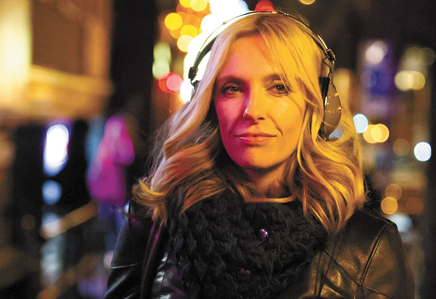 Toni Collette shines as a rock critic in Lucky Them.