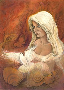 """""""Aphrodite,"""" by Janet Hess (Avenue West Gallery)"""