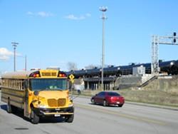 Trains carrying crude oil pass through Spokane regularly. - JAKE THOMAS