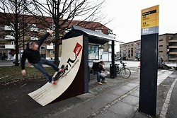 In Copenhagen, their bus stops double as quarterpipes. Can we at least have a Plaza that's also an event space? - SAATCHI & SAATCHI