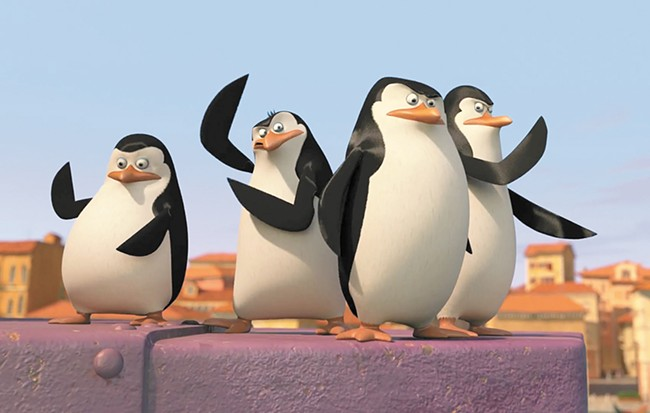 TV's most famous penguins.